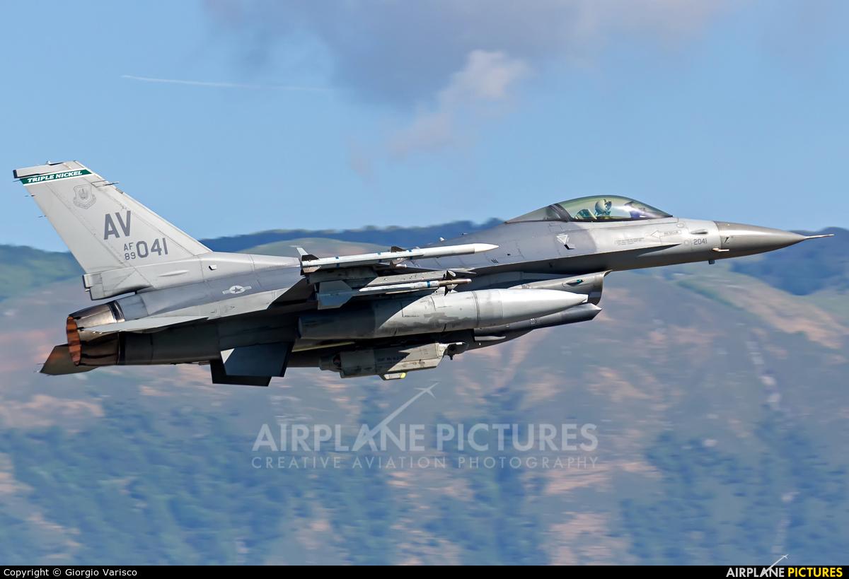USA - Air Force 89-2041 aircraft at Aviano
