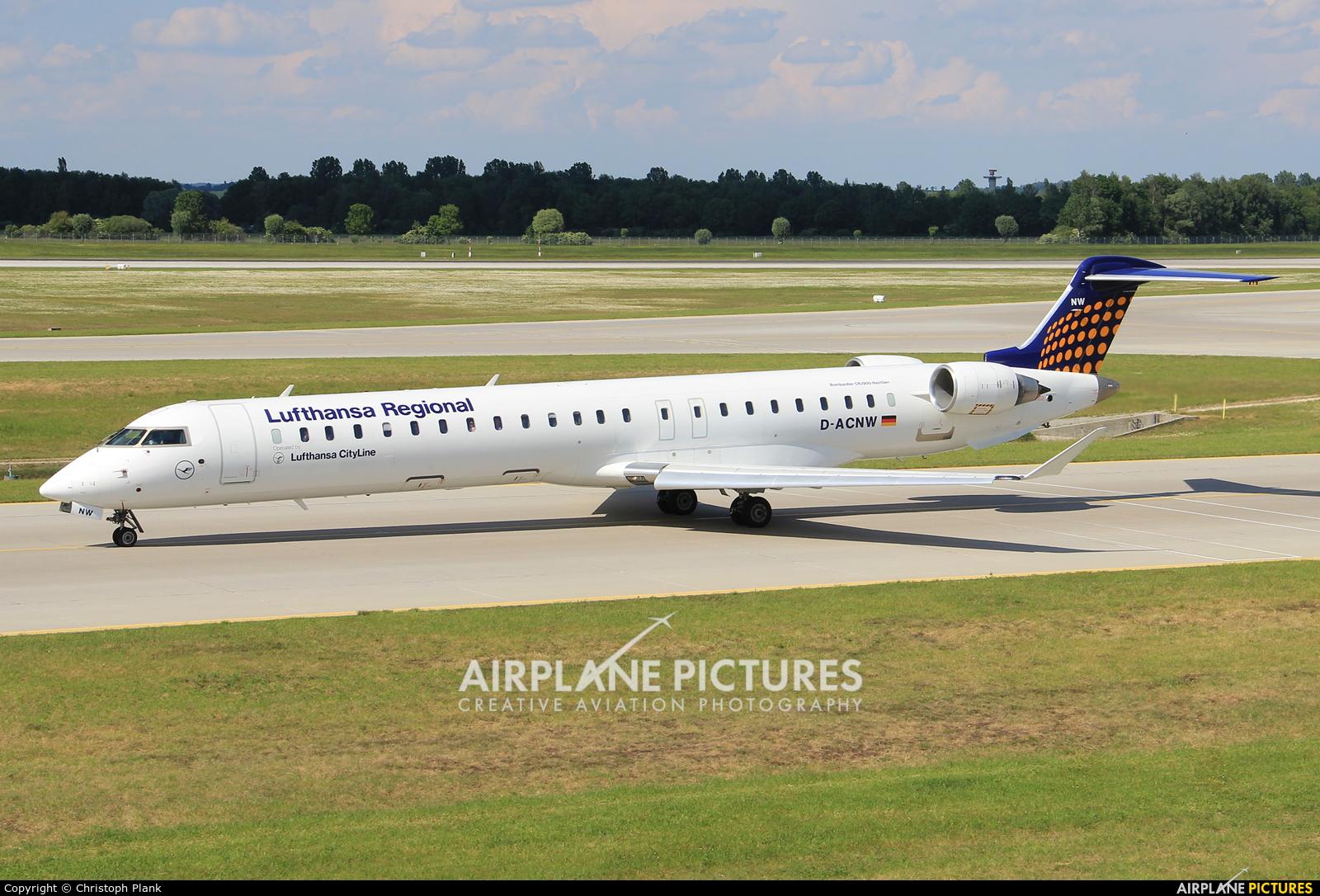 Lufthansa Regional - CityLine D-ACNW aircraft at Munich