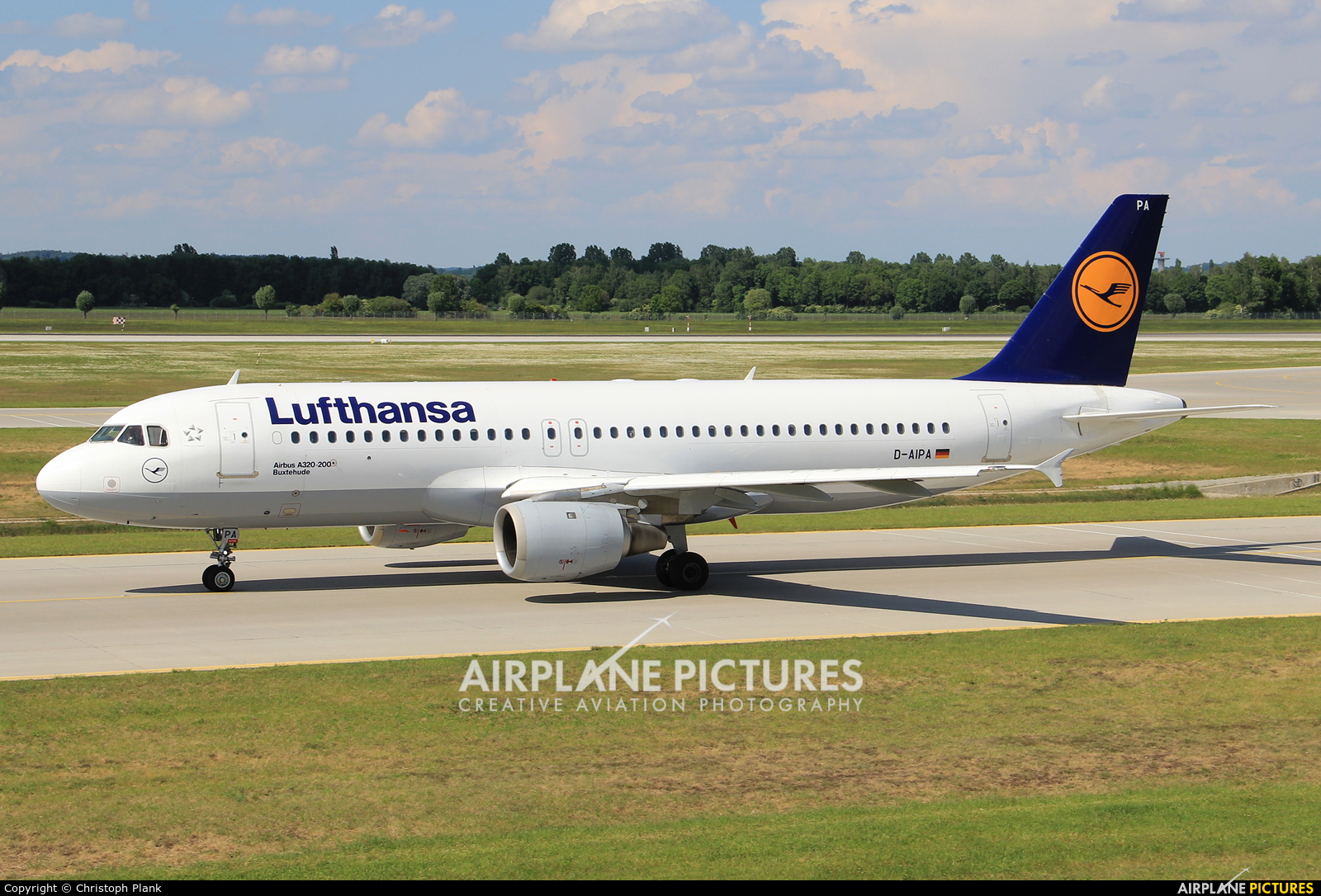 Lufthansa D-AIPA aircraft at Munich