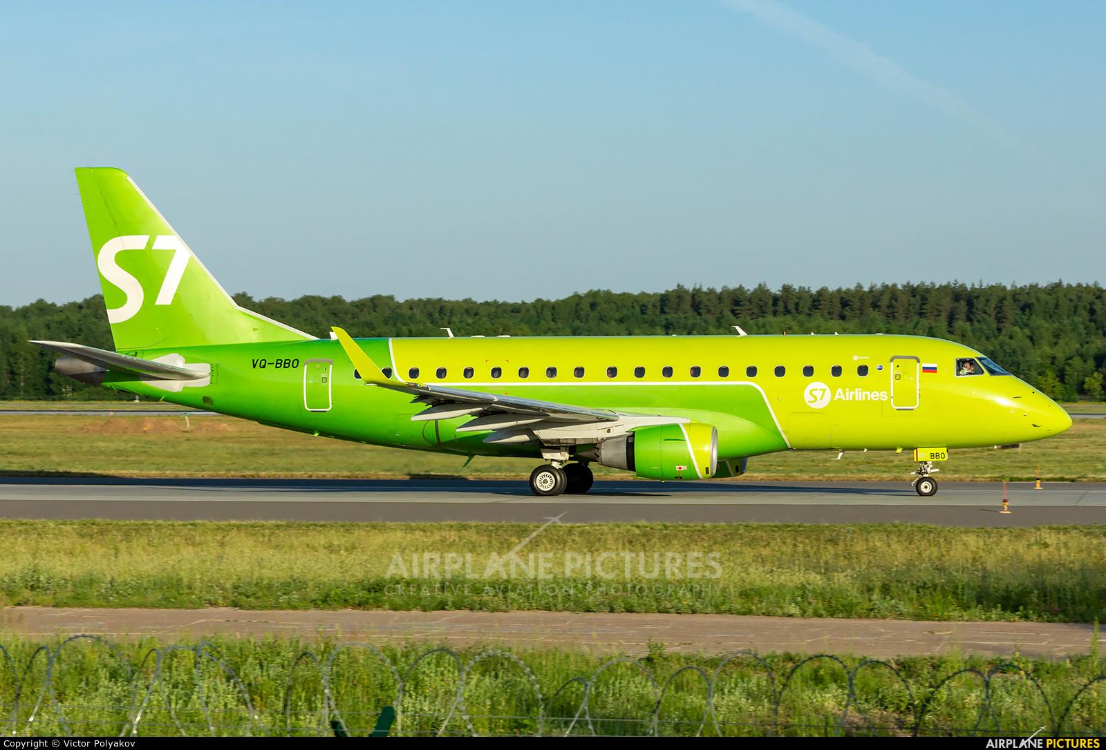 S7 Airlines VQ-BBO aircraft at Nizhniy Novgorod
