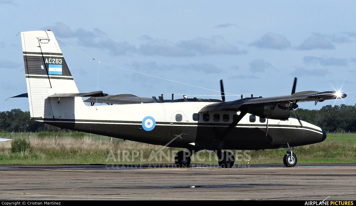 Argentina - Army AE-263 aircraft at Resistencia International