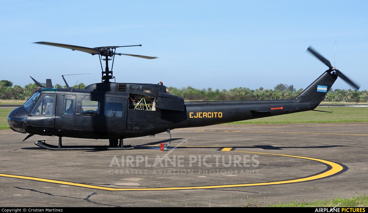 Argentina - Army AE-438 aircraft at Formosa Intl