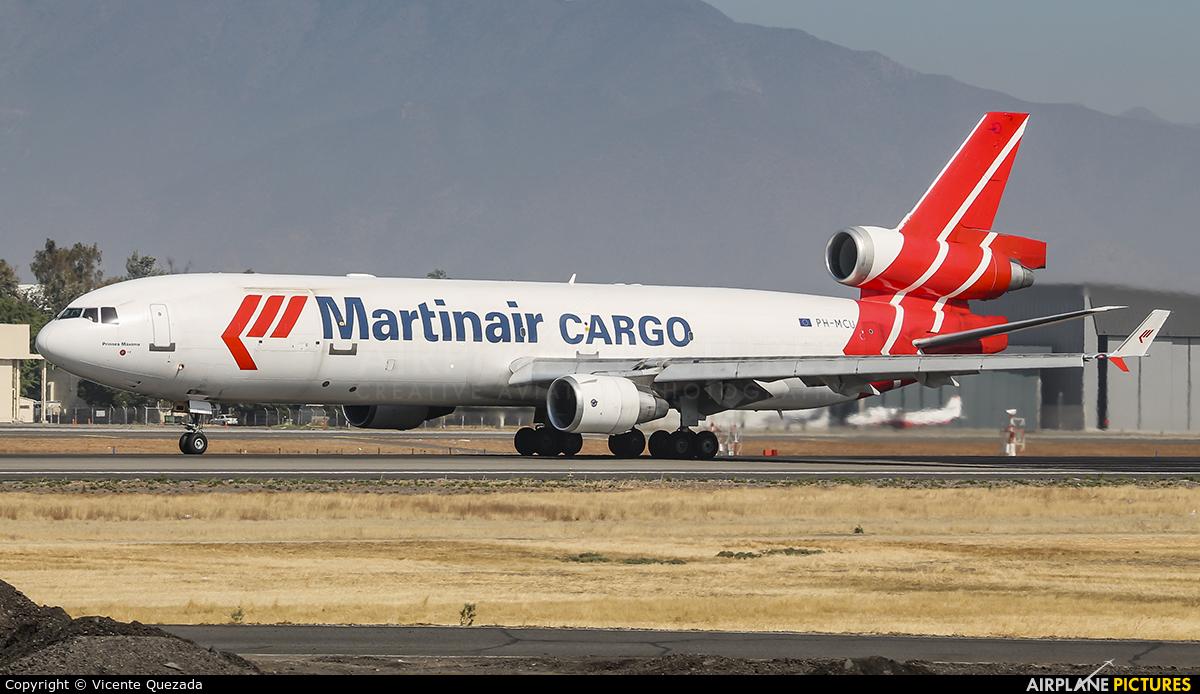 Martinair Cargo PH-MCU aircraft at Santiago de Chile - Arturo Merino Benítez Intl