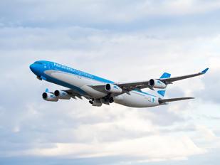 LV-FPU - Aerolineas Argentinas Airbus A340-300