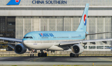 HL7539 - Korean Air Airbus A330-200