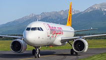 First visit of Pegasus A320neo to Poprad title=