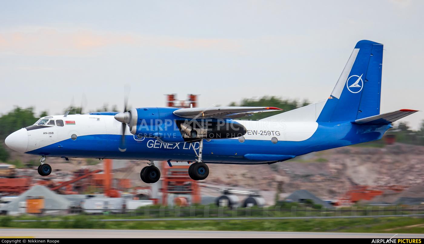 Genex EW-259TG aircraft at Helsinki - Vantaa