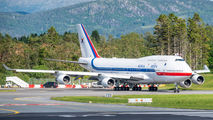 South Korean Air Force B744 visited Bergen title=
