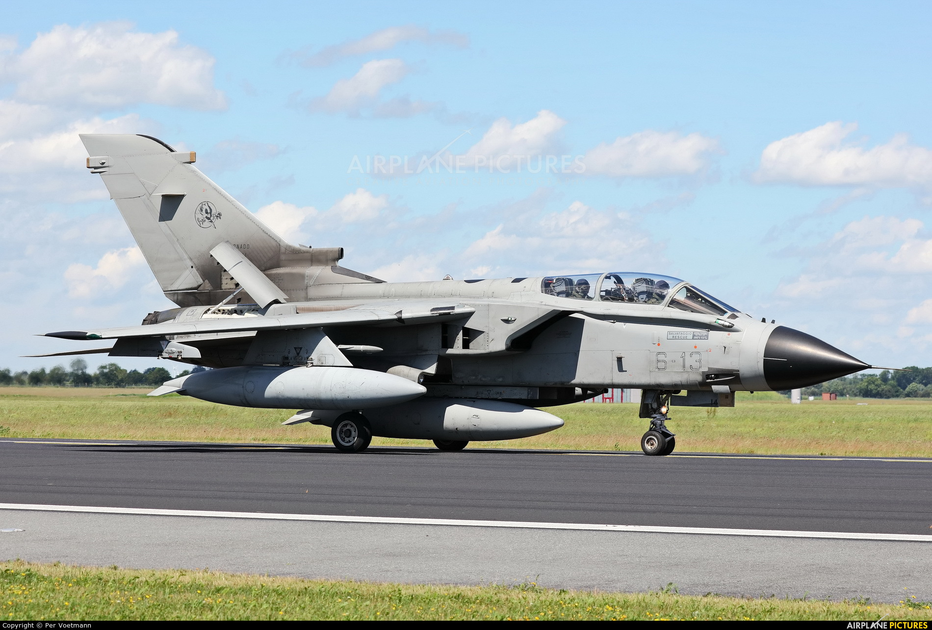 Italy - Air Force MM7014 aircraft at Schleswig-Jagel