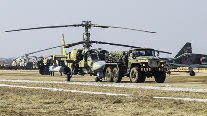 RF-95317 - Russia - Air Force Kamov Ka-52 Alligator
