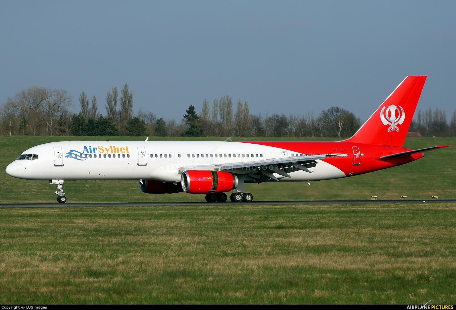 Air Sylhet  TF-LLY aircraft at Birmingham