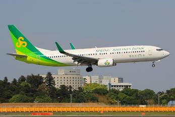 JA05GR - Spring Airlines Japan Boeing 737-800