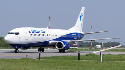 YR-BAS - Blue Air Boeing 737-400