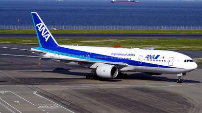 JA710A - ANA - All Nippon Airways Boeing 777-200