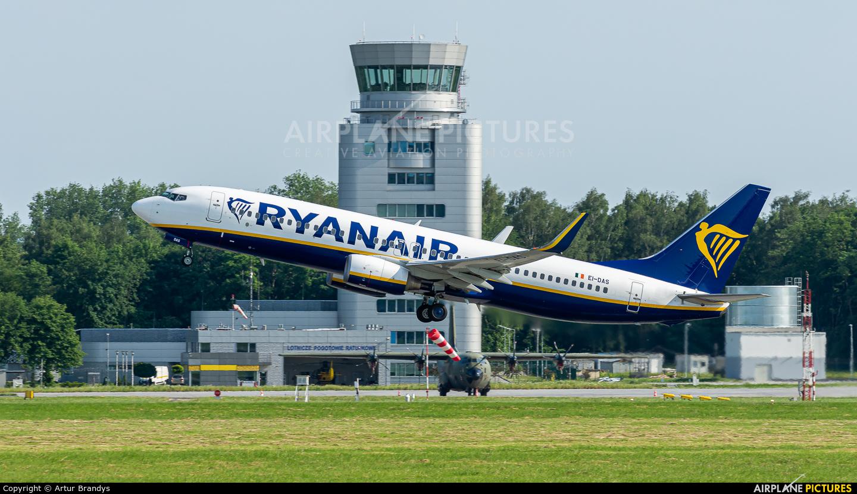 Ryanair EI-DAS aircraft at Kraków - John Paul II Intl