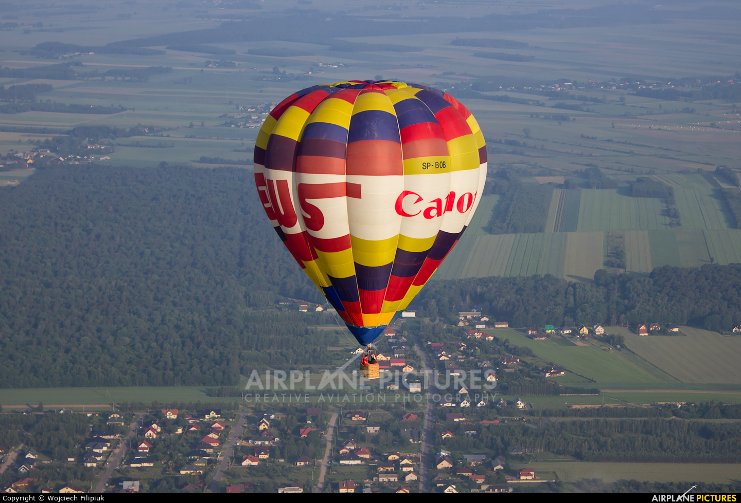 Unknown SP-BOB aircraft at In Flight - Poland