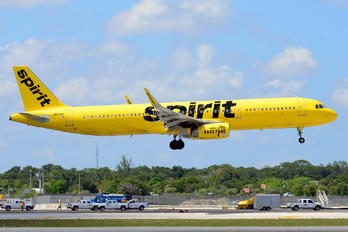 N658NK - Spirit Airlines Airbus A321