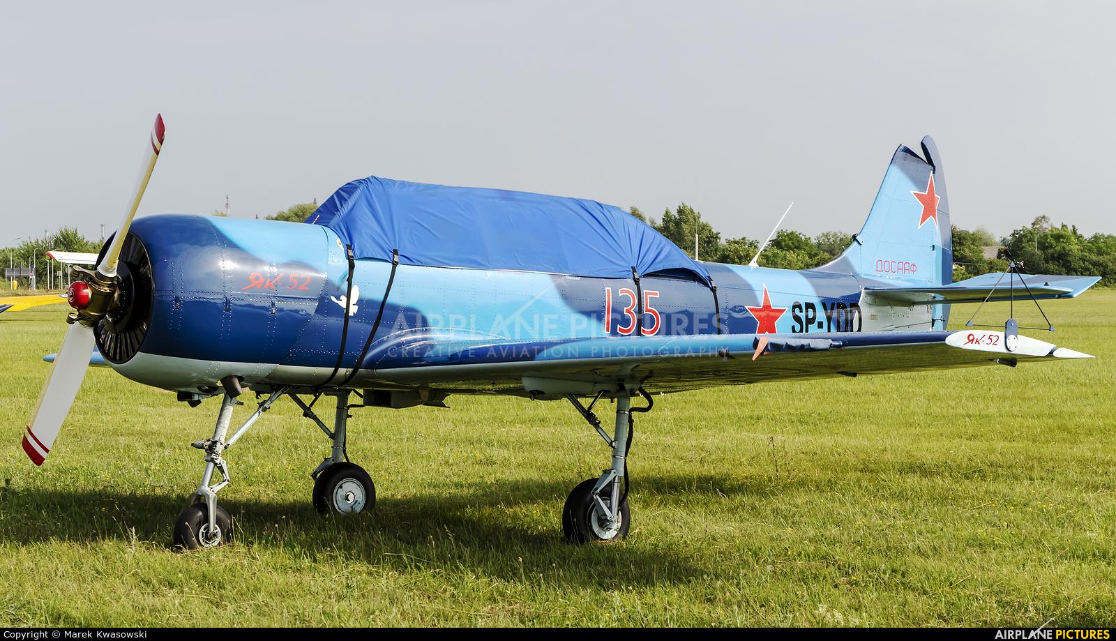 Private SP-YDD aircraft at Płock