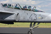 43 - Hungary - Air Force SAAB JAS 39D Gripen aircraft