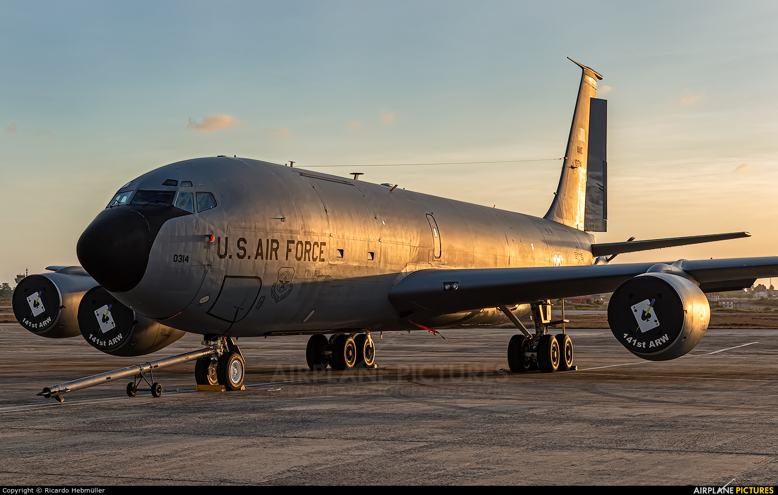 USA - Air Force 61-0314 aircraft at Natal - Augusto Severo