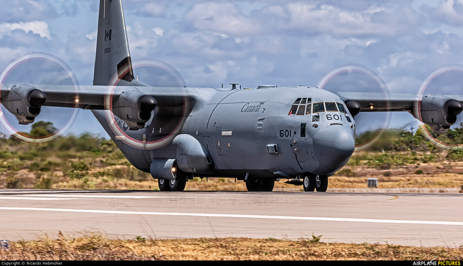 Canada - Air Force 130601 aircraft at Natal - Augusto Severo