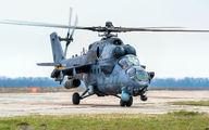 34 - Russia - Air Force Mil Mi-35 aircraft