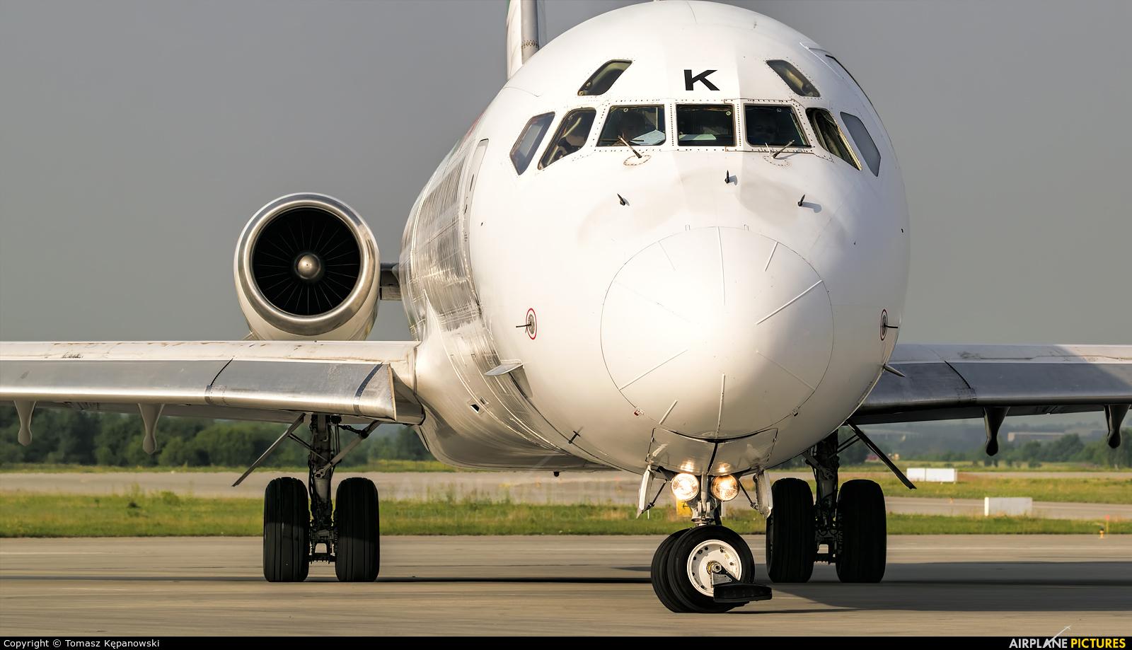 Bulgarian Air Charter LZ-LDK aircraft at Rzeszów-Jasionka