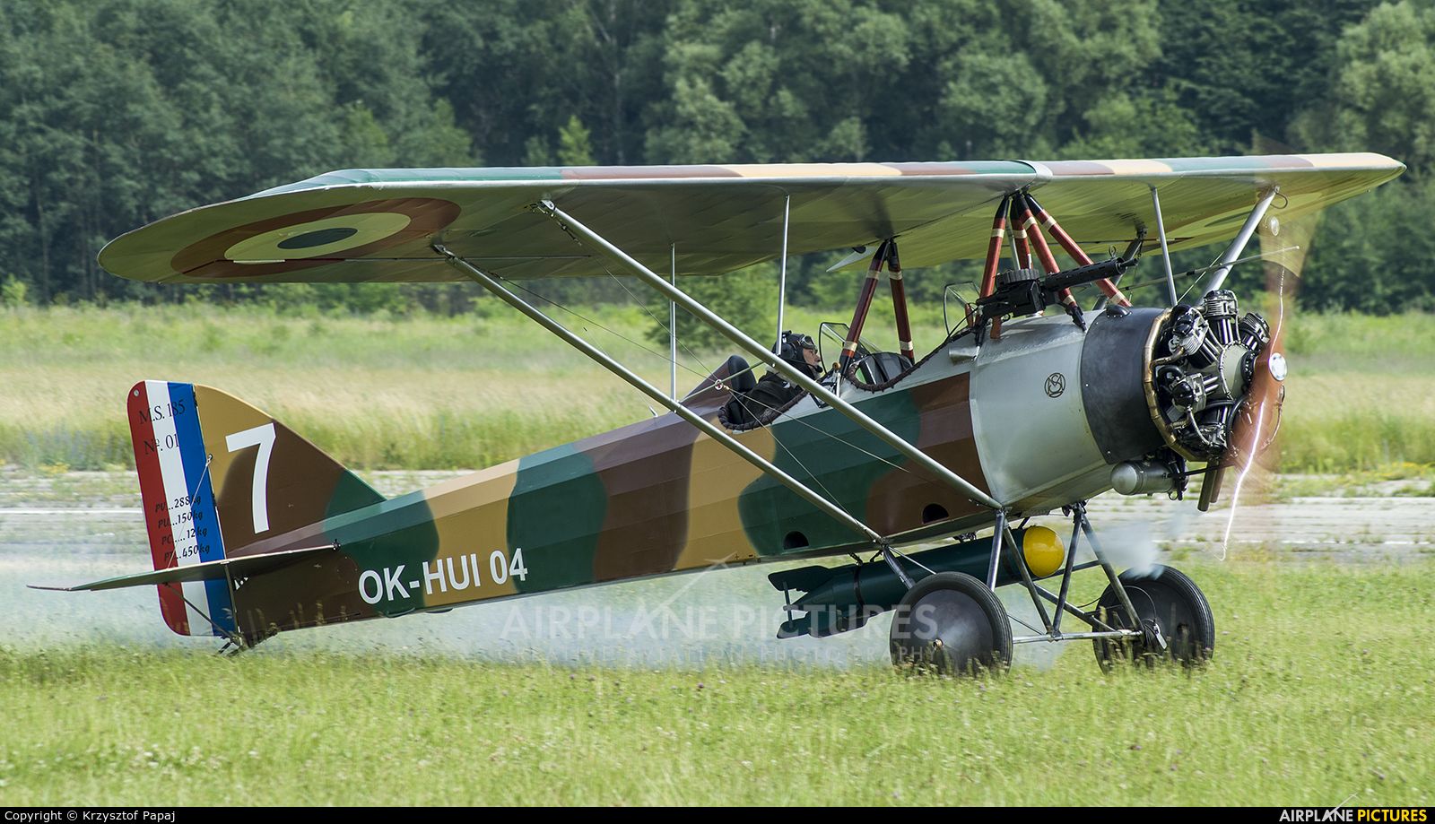 Private OK-HUI04 aircraft at Katowice Muchowiec