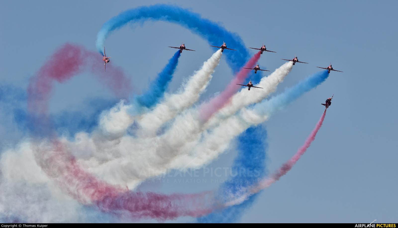 "Royal Air Force ""Red Arrows"" - aircraft at Uden - Volkel"
