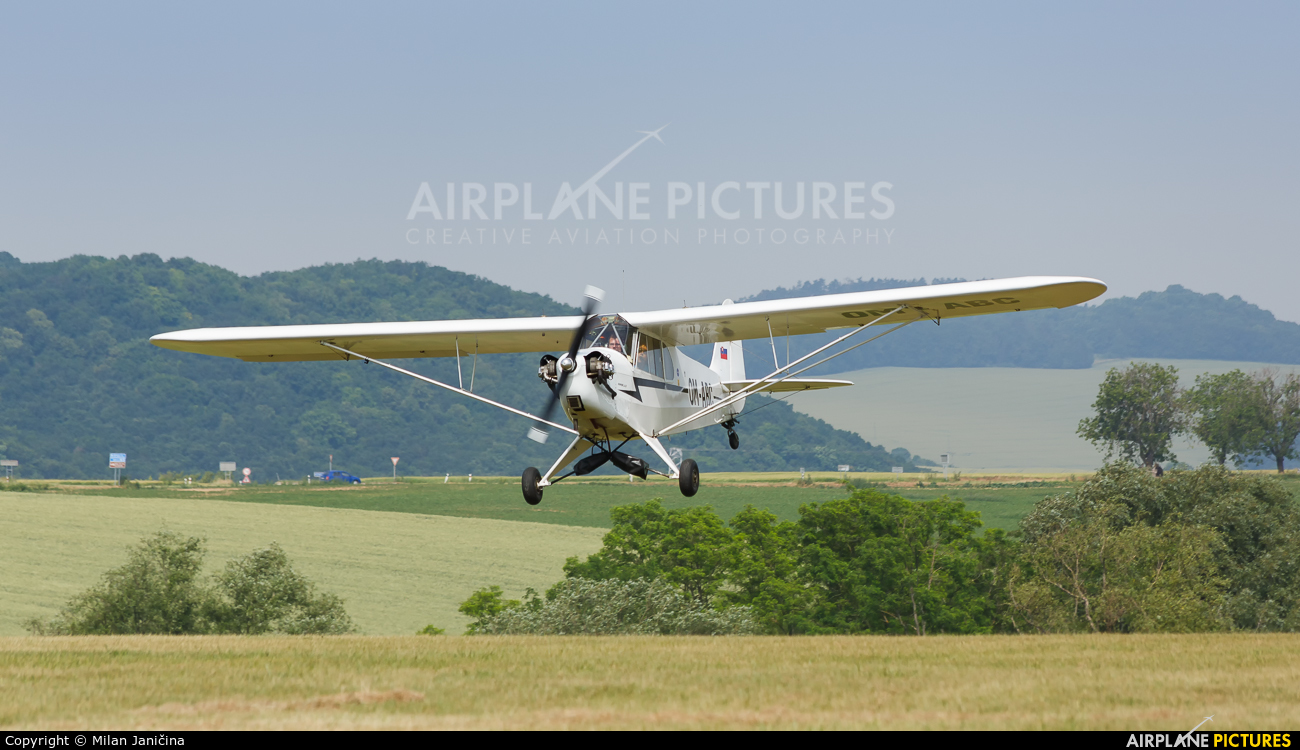 Private OM-ABC aircraft at Off Airport - Slovakia