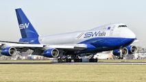 I-SWIA - Silk Way Italia Boeing 747-400F, ERF aircraft