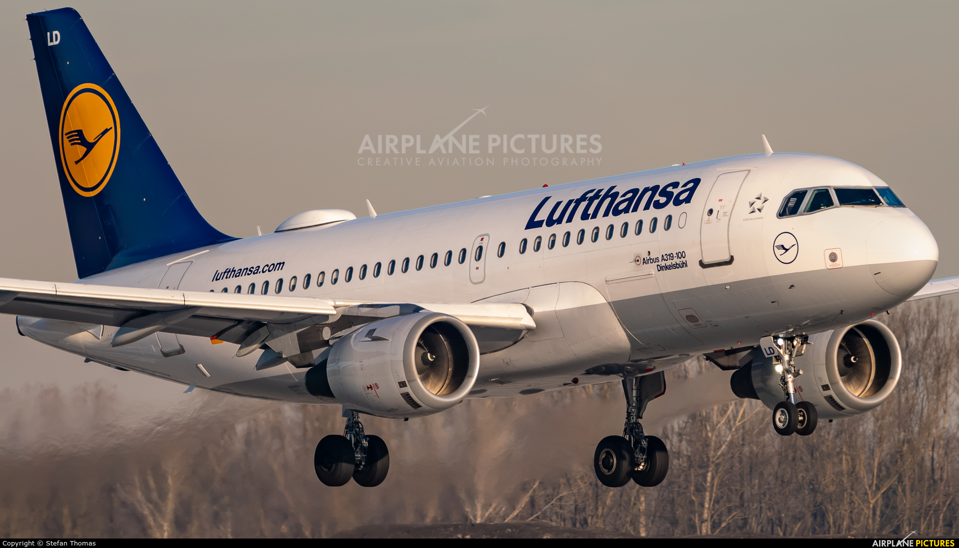 Lufthansa D-AILD aircraft at Munich