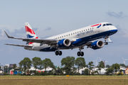 G-LCYM - British Airways - City Flyer Embraer ERJ-190 (190-100) aircraft