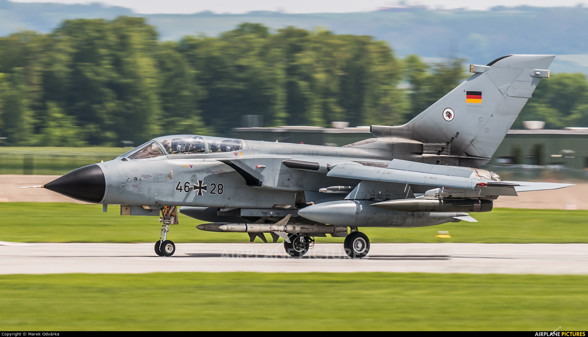 Germany - Air Force 46+28 aircraft at Čáslav