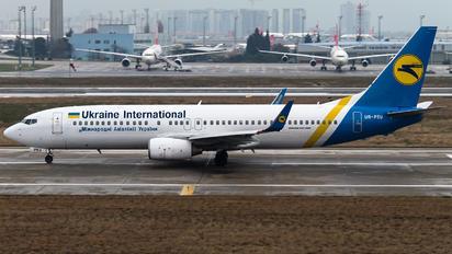 UR-PSU - Ukraine International Airlines Boeing 737-8AS