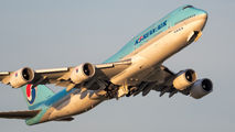 HL7637 - Korean Air Boeing 747-8 aircraft