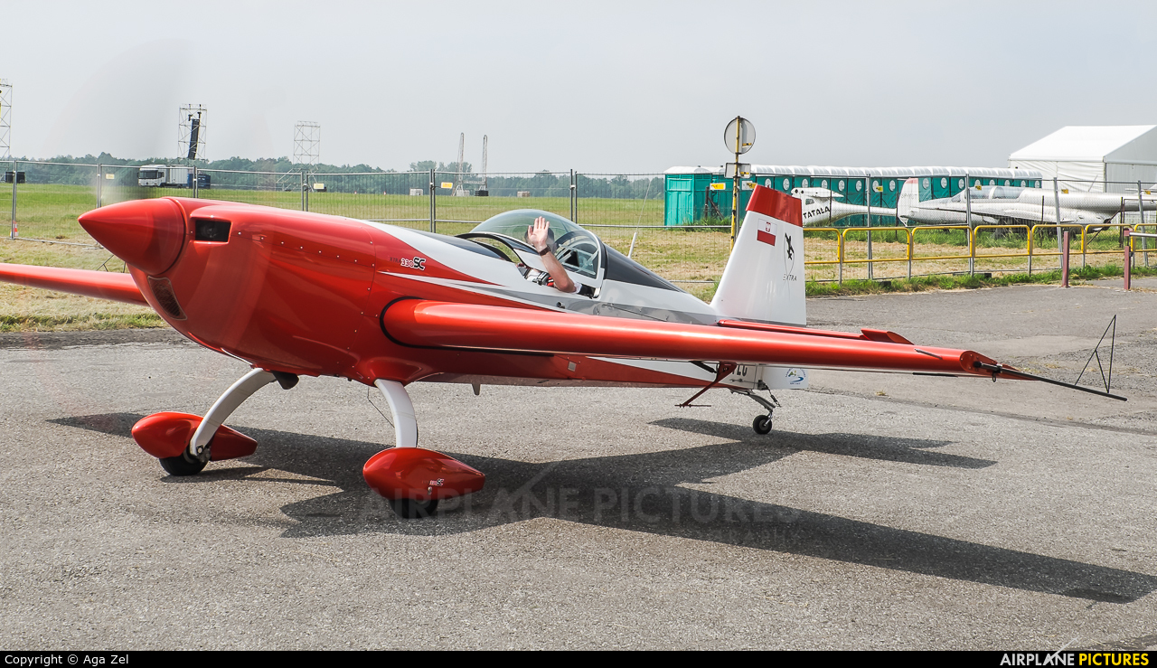 Private SP-TLC aircraft at Katowice Muchowiec