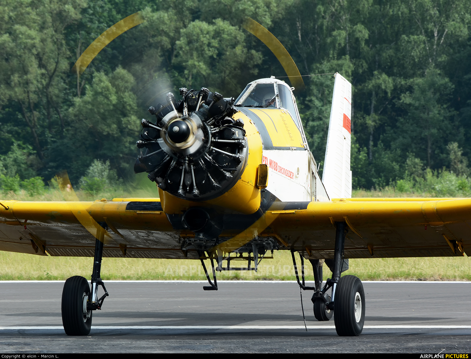 Private SP-ZWX aircraft at Katowice Muchowiec