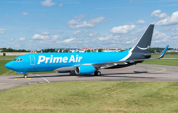 N855DM - Amazon Prime Air Boeing 737-800(BCF)