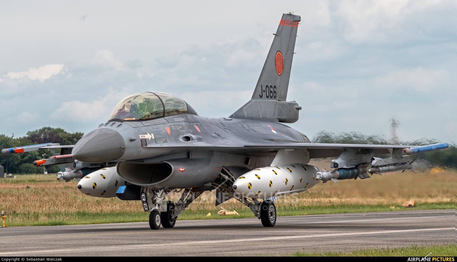 Netherlands - Air Force J-066 aircraft at Uden - Volkel