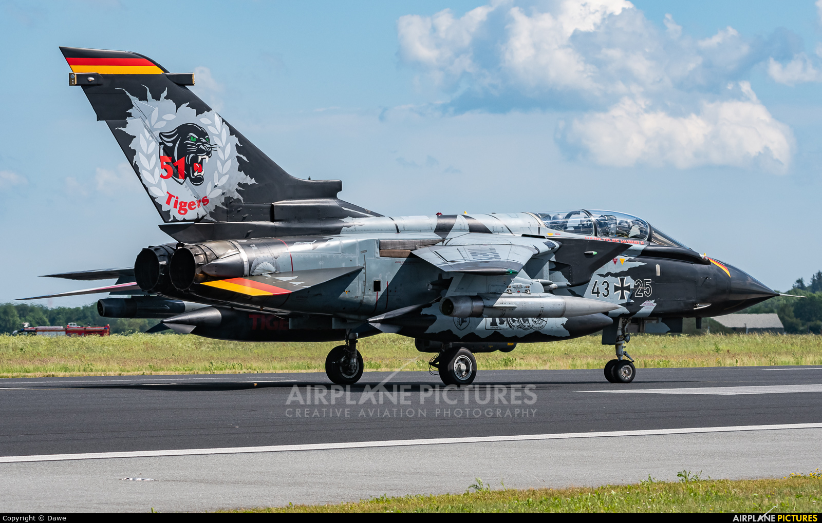 Germany - Air Force 43+25 aircraft at Schleswig-Jagel
