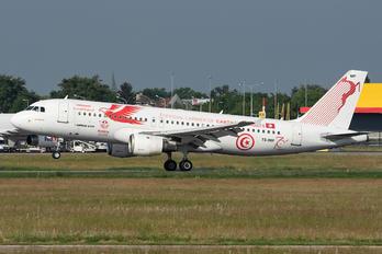 TS-IMP - Tunisair Airbus A320