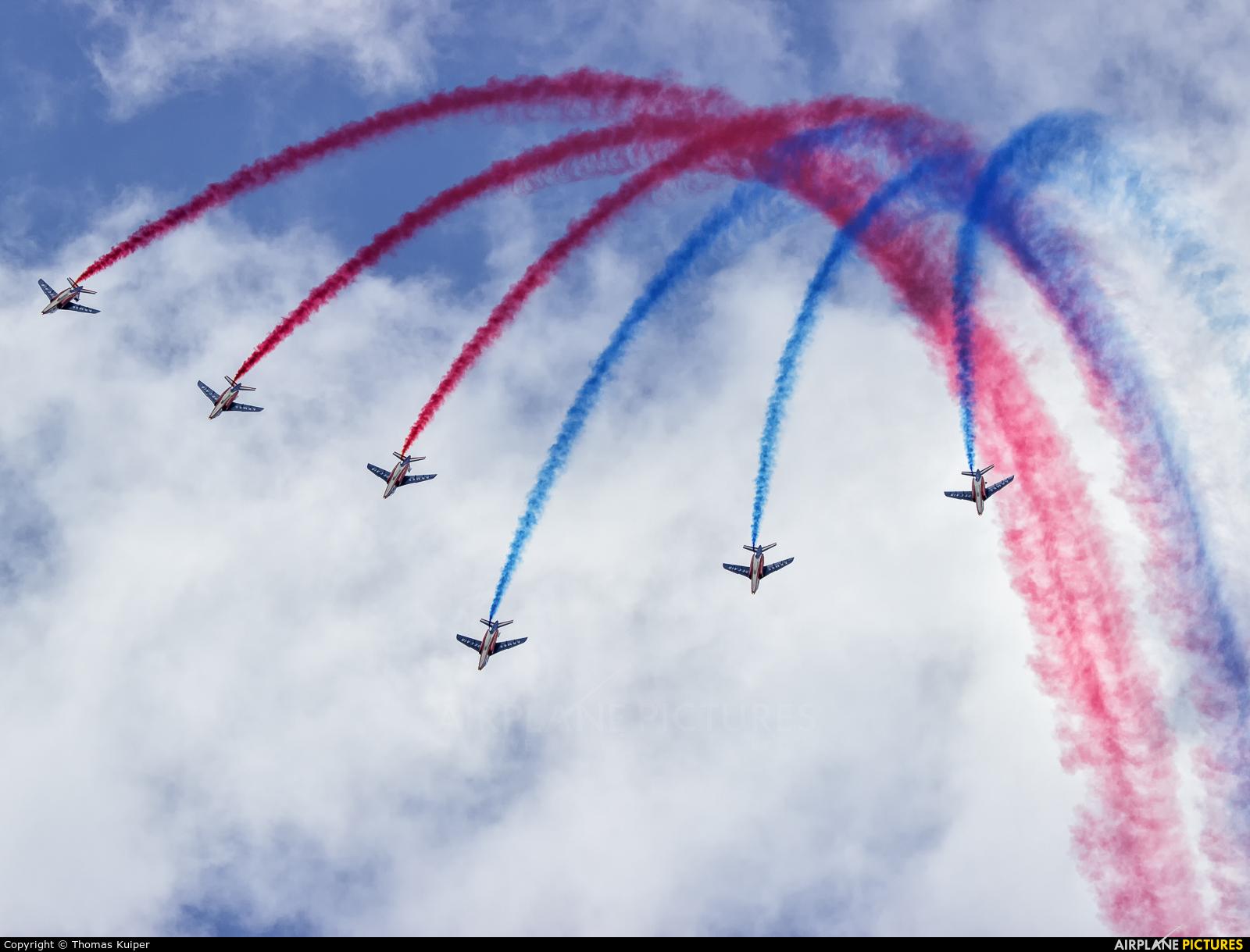 "France - Air Force ""Patrouille de France"" - aircraft at Uden - Volkel"