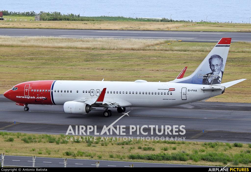 Norwegian Air Shuttle EI-FHA aircraft at Azores - Ponta Delgada