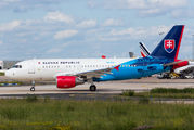 Slovak Government Flying Service A319 visited Paris Orly  title=