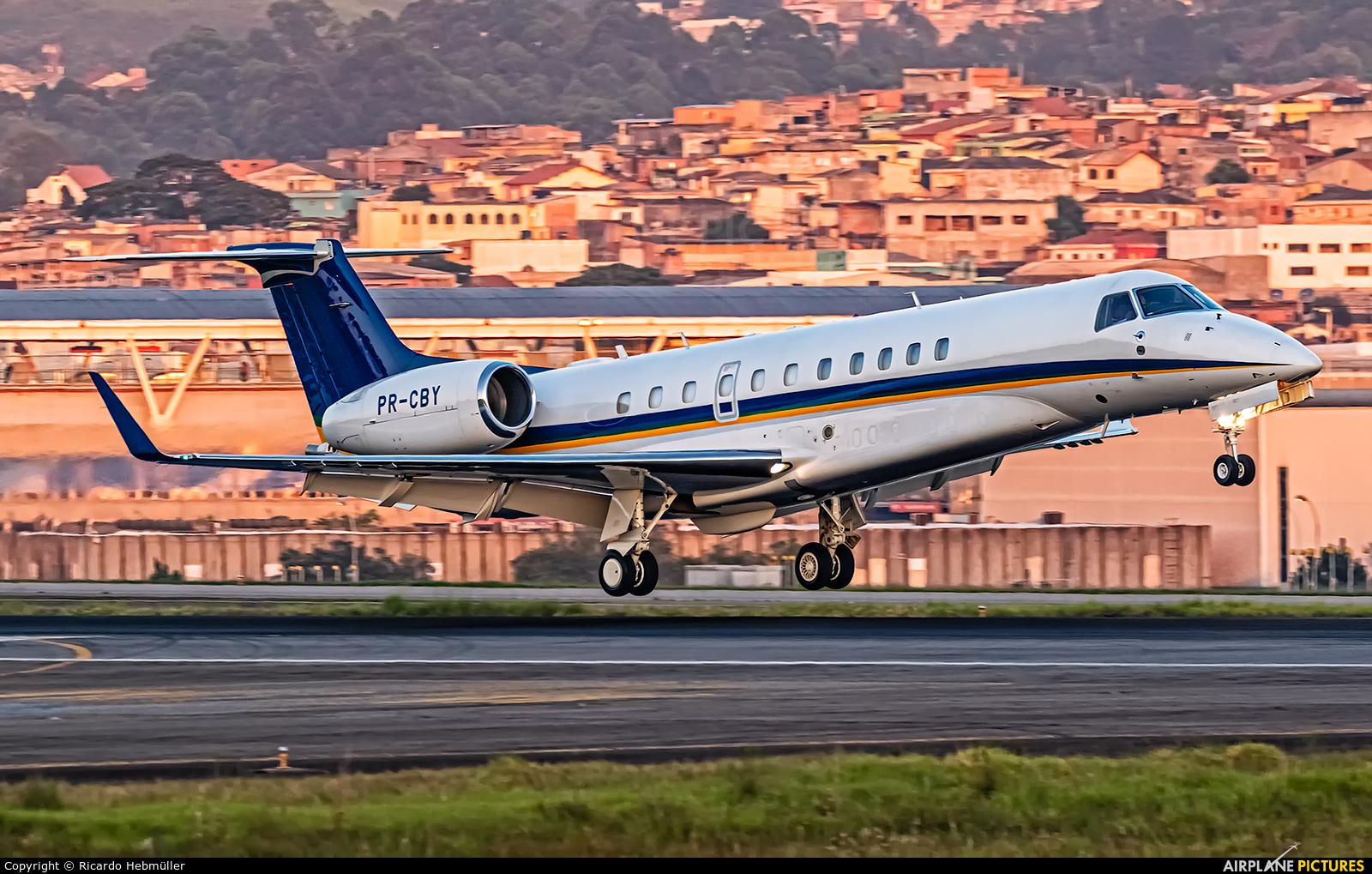 Private PR-CBY aircraft at São Paulo - Guarulhos