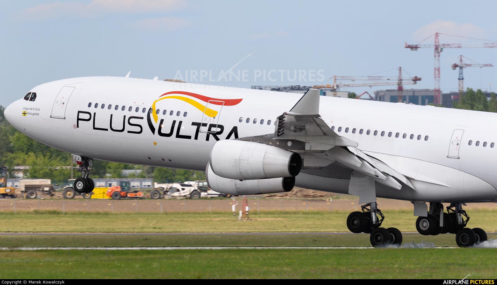 Plus Ultra EC-MFA aircraft at Warsaw - Frederic Chopin