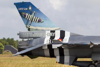FA-124 - Belgium - Air Force General Dynamics F-16AM Fighting Falcon