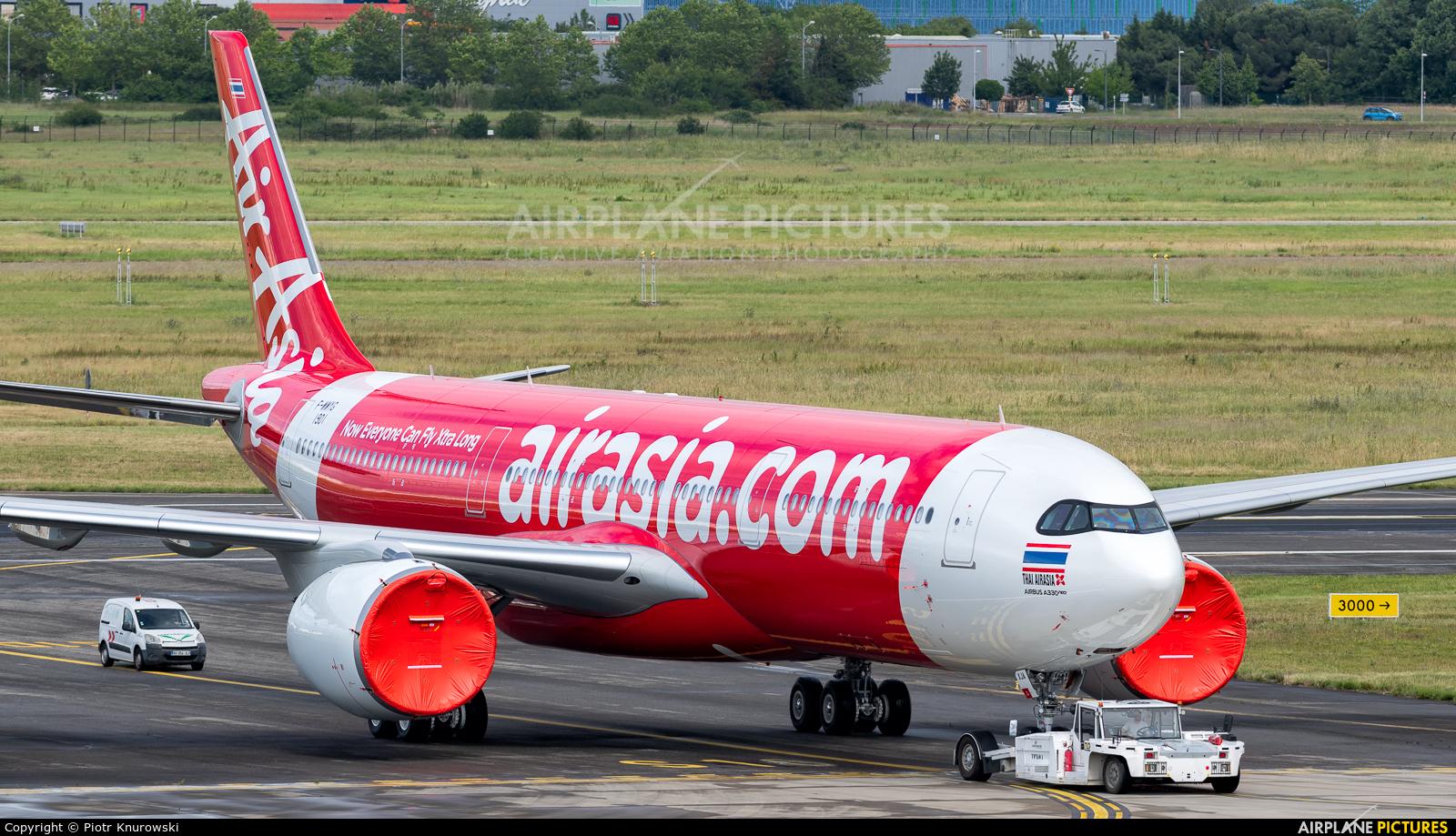 AirAsia X F-WWYG aircraft at Toulouse - Blagnac