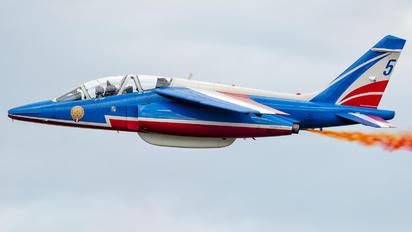 "FUGFK - France - Air Force ""Patrouille de France"" Dassault - Dornier Alpha Jet E"